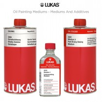 LUKAS Oil Painting Mediums - Mediums and Additives