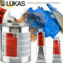Lukas Painting Butter Impasto Oil Medium