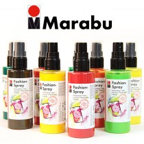 Marabu Fashion Sprays Fabric Paints