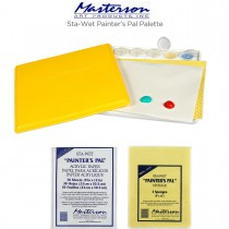 Masterson Sta-Wet Painter's Pal Palette & Refills