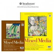 Strathmore 300 & 400 Series Mixed Media Pads