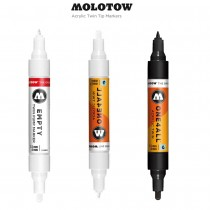 Molotow ONE4ALL Twin Tip Acrylic Markers