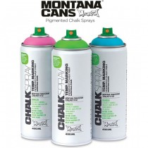 Montana CHALKSPRAY 400ml Spray Cans