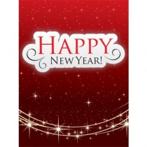 Happy New Year - Holiday - Electronic Gift Card eGift Card