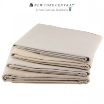 New York Central Linen Canvas Blankets