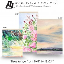 New York Central Professional Watercolor Panels