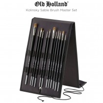 Old Holland Kolinsky Sable Brush Master Set