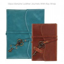 Opus Genuine Leather Journals with Key Wrap