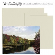 Plein Air Butterfly Ultra-Lightweight Oil Primed Linen Panels