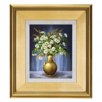 Elegant Plein Aire Gold Frames with Linen Liners