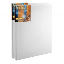 "Practica 4x6"" Stretched Canvas Value 2-Pack"
