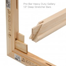 "Pro-Bar Heavy Duty Gallery 1.5"" Deep Stretcher Bars"