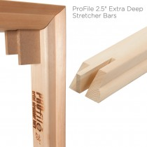 "ProFile Extra Deep 2.5"" Stretcher Bars"