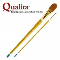 Creative Mark Qualita Golden Taklon Long Handle Brushes