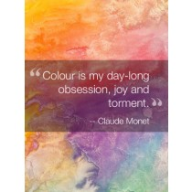 Inspirational Quote Art eGift Card - Claude Monet eGift Card