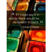 Inspirational Quote Art eGift Card - Edward Hopper eGift Card