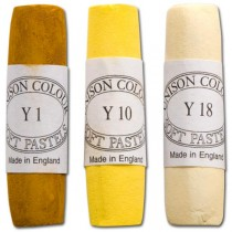 Unison Soft Pastels Yellow Gold Shades