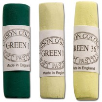 Unison Soft Pastels Green Shades