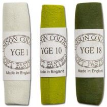 Unison Soft Pastels Yellow Green Earth Shades