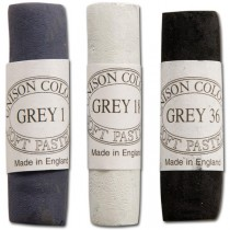 Unison Soft Pastels Grey Shades