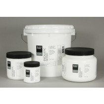 Absorbent gesso specifically made for use with encaustics.