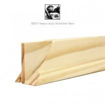 "BEST Heavy-Duty Stretcher Bars 8"" to 144"""