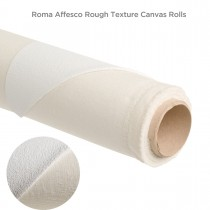 Roma Affesco Rough Texture Canvas Rolls