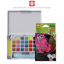 Sakura Koi Watercolor Creative Art Color Pan Sets