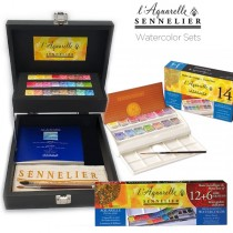 Sennelier Watercolor Sets - l'Aquarelle French Artists'