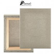 """Senso Clear Primed Stretched Linen Canvas 1-1/2"""" Deep"""