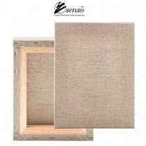 "Clear Primed Stretched Linen Canvas 3/4"" Deep"