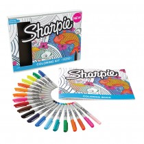 Sharpie Aquatic Coloring Kit