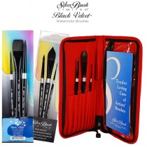Silver Brush Black Velvet® Brush Sets