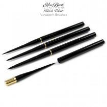 Silver Brush Black Velvet Voyage® Brushes