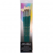 Silver Brush Cambridge Brush Set of 5