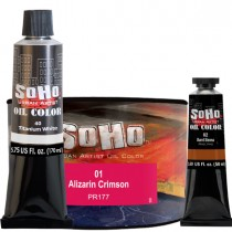 SoHo Urban Artist Oil Color Paint, Tubes and Cans