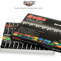 SoHo Urban Artist Quality Watercolor Sets