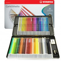 CarbOthello Pastel Pencil Set 60 Color Set