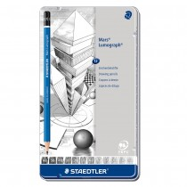 Staedtler Lumograph Graphite Pencil Set of 12