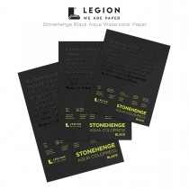 Legion Stonehenge Black Aqua Watercolor Paper