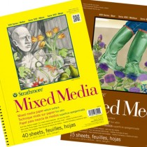 Strathmore 300 / 400 Series Mixed Media Pads