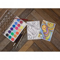Strathmore Designs for Watercoloring Printed Watercolor Pads