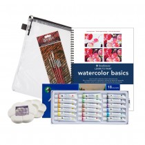 Strathmore Learning Series Watercolor Kit Learn to Paint Watercolor Basics