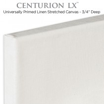 "Universal Acrylic Primed Linen Stretched Canvas 3/4"" Centurion LX"