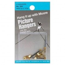 Super Picture Hangers 4 pack each holds up to 10 lb.