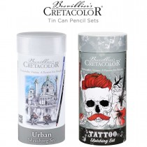 Tattoo and Urban Sketching Tin Sets