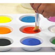First Impressions Kids Non-Toxic Tempera Paint Cakes