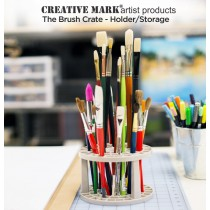 The e Brush Crate - Artist Brush Holder