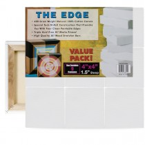 The Edge Small Square Cotton Canvas Gallery 9 Packs