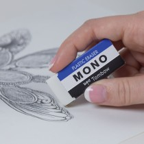 MONO eraser in use